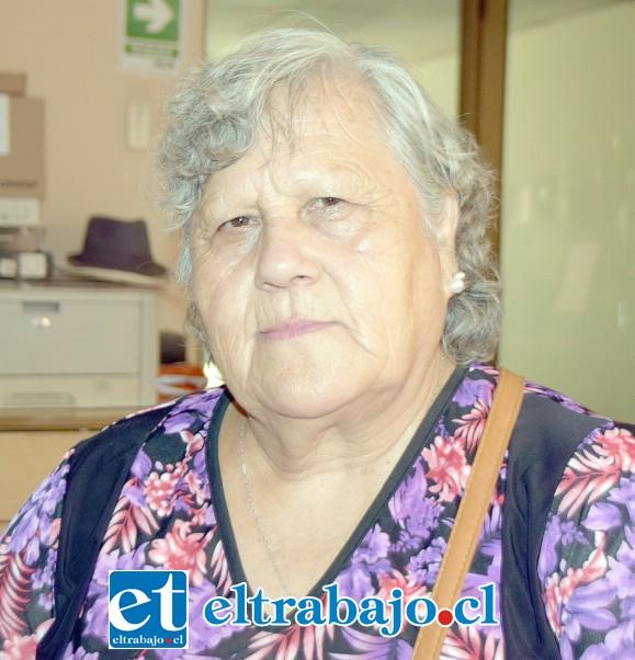 Silvia Arancibia García, suegra de la mujer afectada.