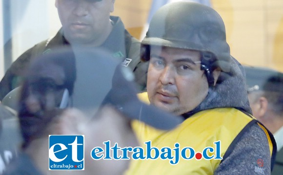 Miguel Andrés Espinoza Aravena, culpable de violar y matar a una guagua indefensa. FOTO:FRANCISCO FLORES SEGUEL/AGENCIAUNO