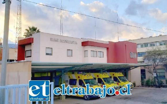 La víctima de 42 años de edad fue derivada hasta el servicio de urgencias del Hospital San Camilo, falleciendo pasada la medianoche.