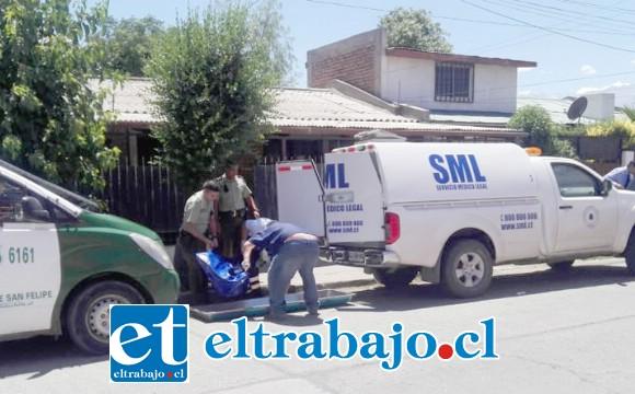 El cuerpo fue levantado por personal del Servicio Médico Legal para la correspondiente autopsia de rigor. (Fotografía referencial).