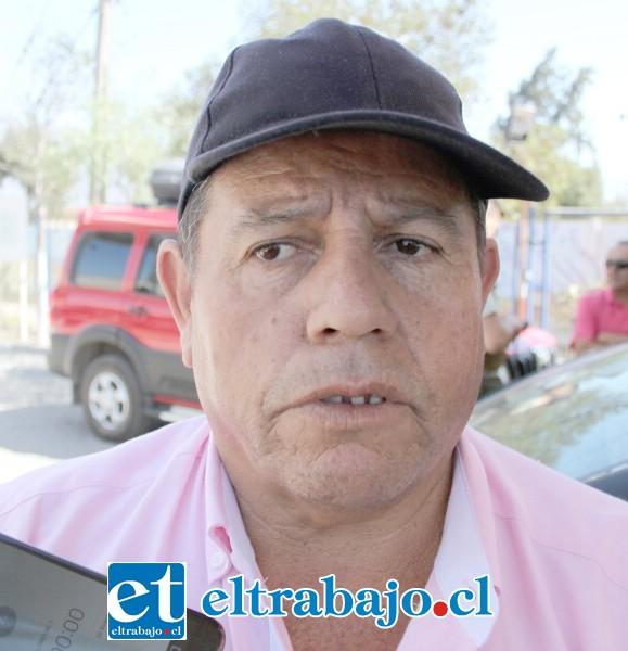 Abel Valencia, infortunado comprador de un vehículo con documentos adulterados.
