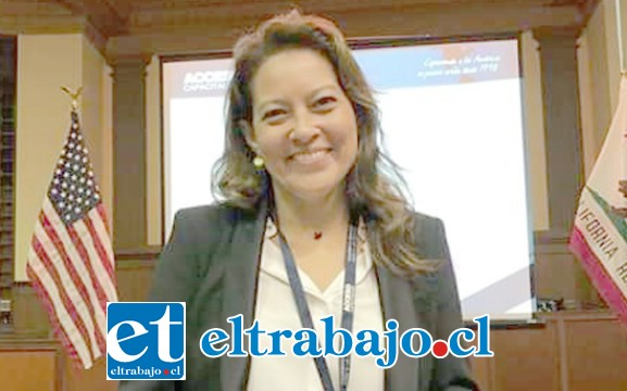 Celeste Jiménez, abogada del alcalde Patricio Freire Canto.