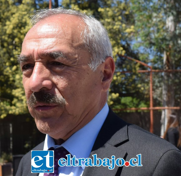 Alcalde Patricio Freire.
