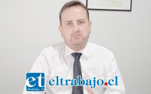 Guido Witto, presidente de los abogados de San Felipe.