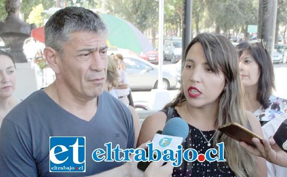 SEGUIRÁN ADELANTE.- Mauricio Mass y Daniela Quiroz hicieron público su malestar con lo ocurrido la noche del lunes.
