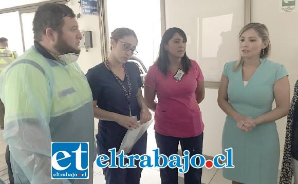 El Servicio de Salud Aconcagua está contratando más personas y preparando al personal en ventilación mecánica para fortalecer los equipos que van a atender a los usuarios.