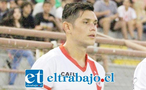 Jesús Pino asumió esta temporada la capitanía de Unión San Felipe.
