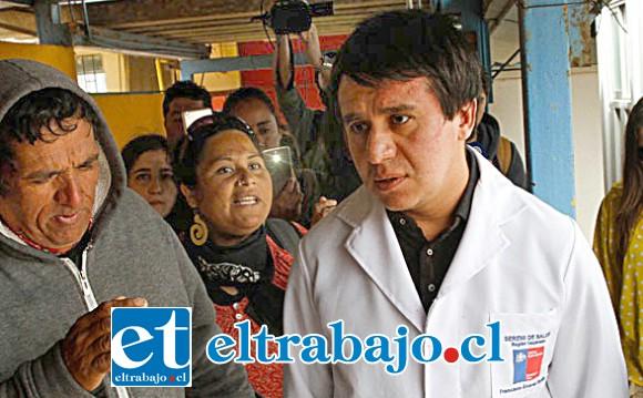 Francisco Álvarez, Seremi de Salud Quinta Región.