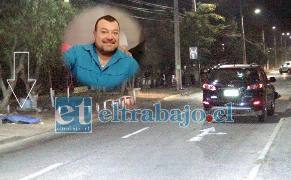 La muerte de Juan Francisco Salgado fue instantánea.