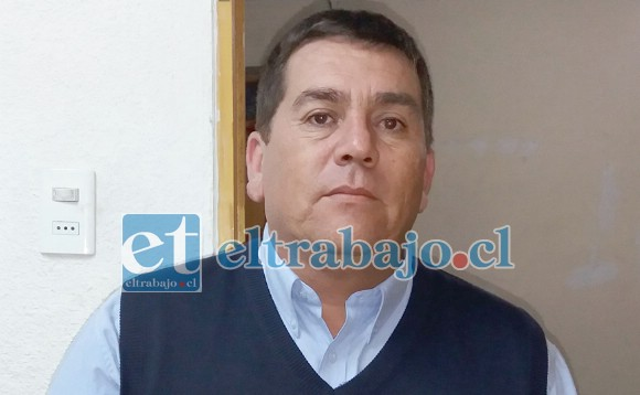 Cristian Ibaceta, presidente de ARFA Quinta Región.