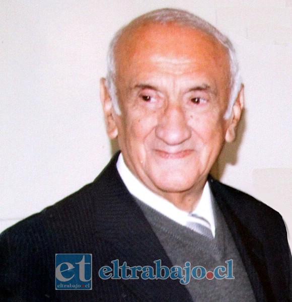 Sergio Caballero Espinoza. Nació el domingo 16 de diciembre de 1928, falleció el martes 5 de mayo de 2020.