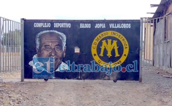 CON NOMBRE PROPIO.- Así se llamará este estadio cuando sea inaugurado: Complejo Deportivo Eulogio Jopia Villalobos.