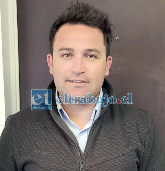 Presidente del Inostroza, Andrés Sandoval Parra.
