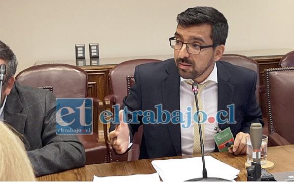 Edgardo González Arancibia, alcalde de Llay Llay.