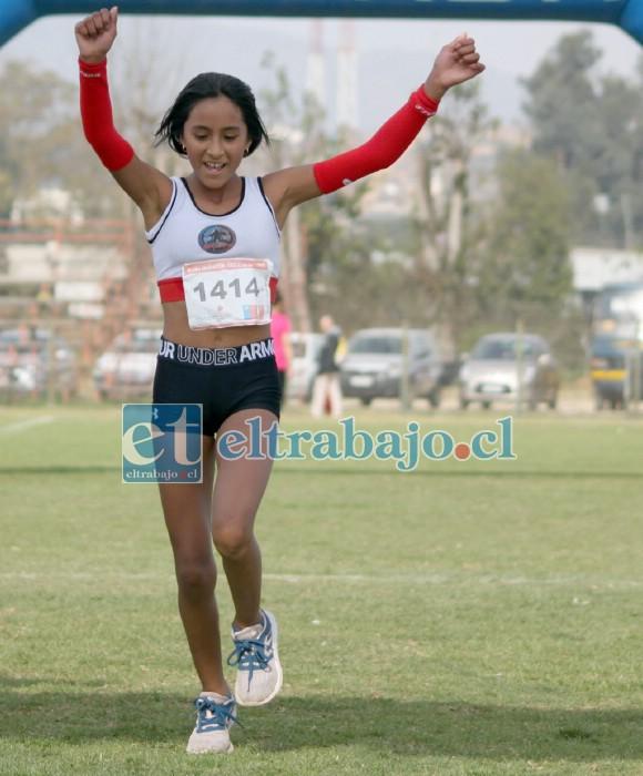 LA TRIUNFADORA.- Así conocimos a 'Panchita' Zúñiga, siempre ganando y celebrando en grande sus victorias.