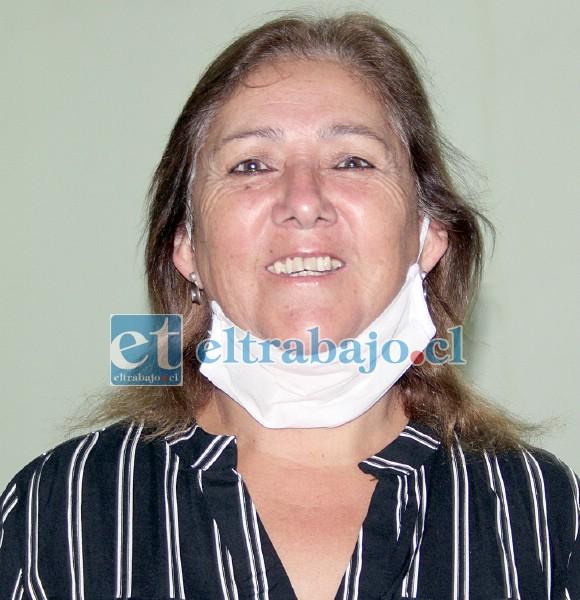 Marisol Domínguez, presidenta de la Junta Vecinal Villa El Totoral.