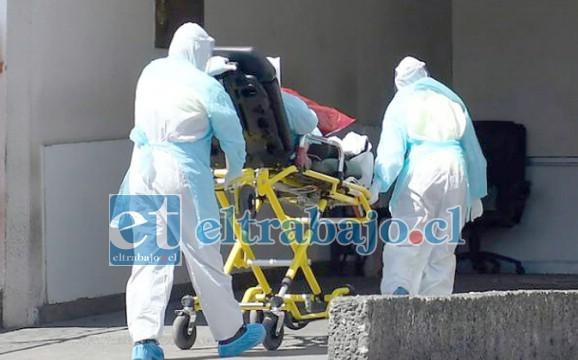 Un nuevo caso de fallecimiento por Covid-19 se registró la tarde de este lunes en el Valle de Aconcagua. (Foto referencial)
