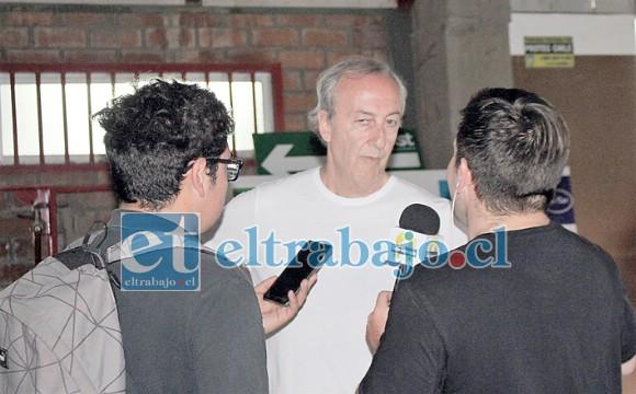 El timonel del Uní Uní es uno de los principales críticos del actual presidente de la ANFP, Sebastián Moreno.