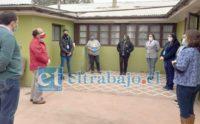 Gobernador de San Felipe, Claudio Rodríguez, dio el recibimiento al personal que estará a cargo de la atención de los adultos mayores y enfermos crónicos en situación de calle que lleguen a este albergue.