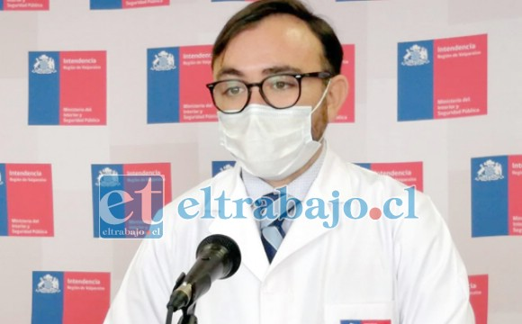 Jaime Jamett, Seremi de Salud subrogante Quinta Región.