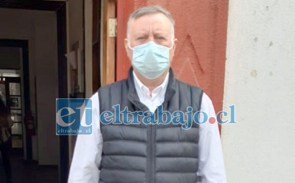 El alcalde de Panquehue, Luis Pradenas Morán, dio a conocer el tercer caso de Covid-19 en la comuna de Panquehue.