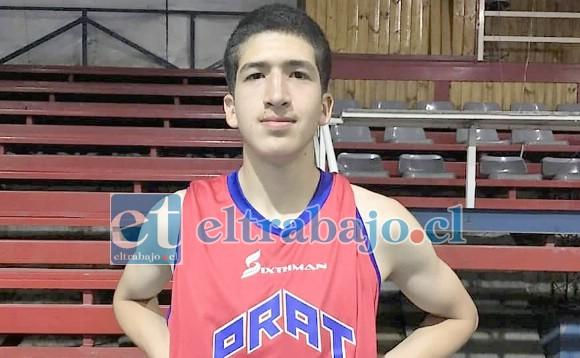 El joven basquetbolista sanfelipeño Raül Amar jugará ahora en el básquetbol norteamericano.