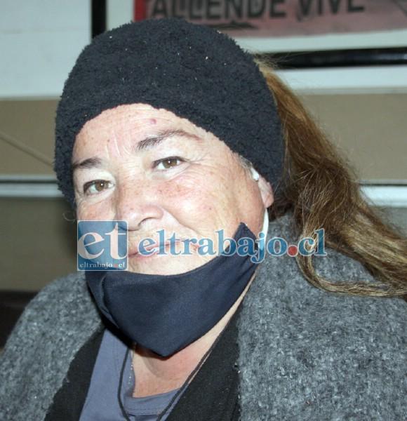 Tania Videla habló ayer con Diario El Trabajo en su casa de habitación.