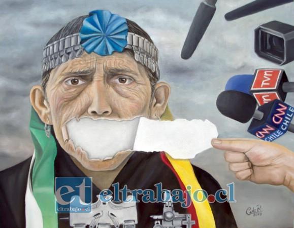 La obra 'Witrafun Pellü' ('Rasgar el Alma') refiere a cómo vive en la actualidad la cultura mapuche y cómo aún mantiene latente ese dolor histórico.