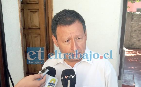 Eduardo Olivares integraba la lista que ayer fue derrotada en la ANFP.