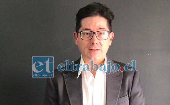 Andrés Gallardo, fiscal a cargo del caso.