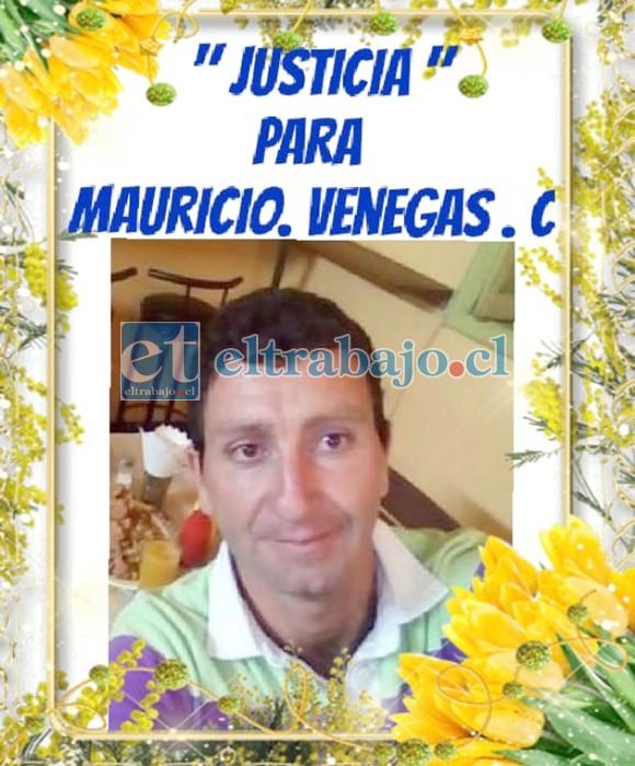 Mauricio Venegas Cordero tenía 38 años de edad y dejó dos hijos de 9 y 5 años.