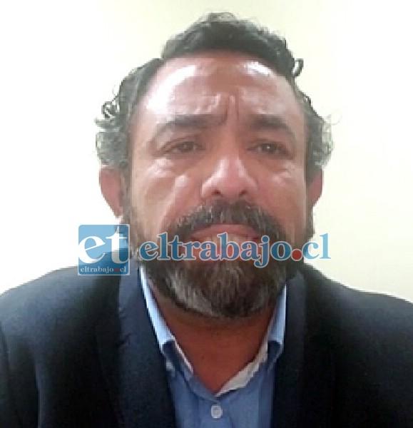 Benjamín Santibáñez Contreras, fiscal de la Fiscalía de San Felipe a cargo de la investigación.