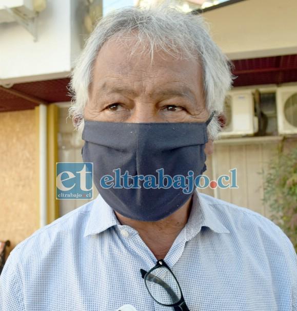 Consejero Regional Iván Reyes.