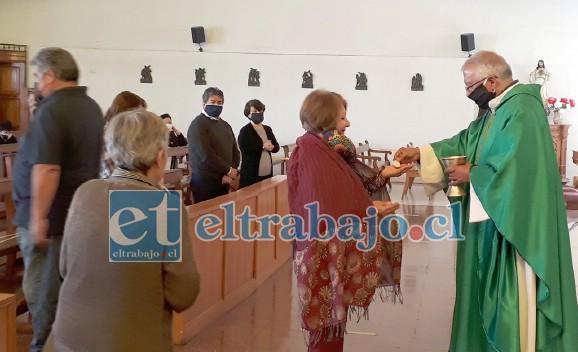 SEMANA MERCEDARIA.- Las Misas o Eucaristías presenciales que se realizarán en la Parroquia La Merced esta semana, serán con un aforo de 25 personas.