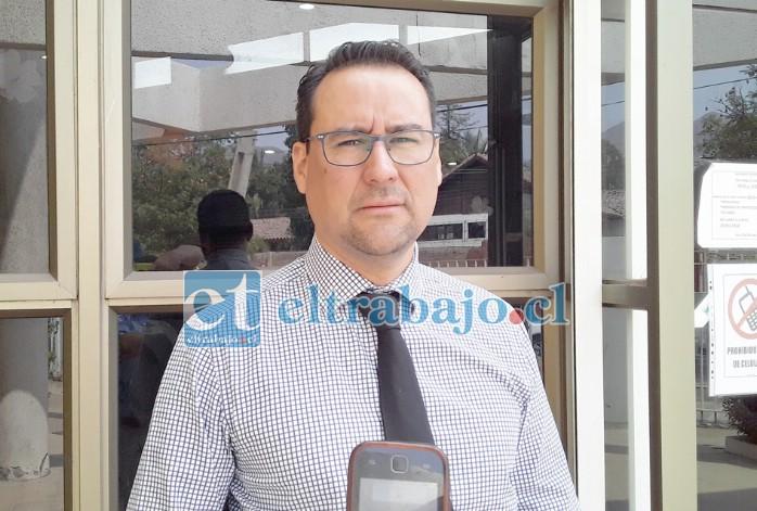 Eduardo Fajardo de la Cuba, fiscal a cargo de este caso.