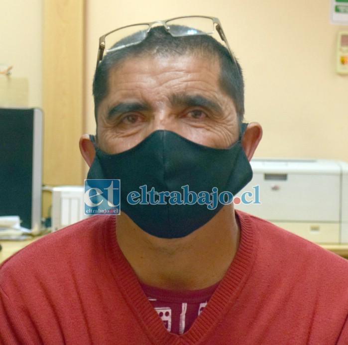 Pedro Espinoza Leiva, vecino del lugar.