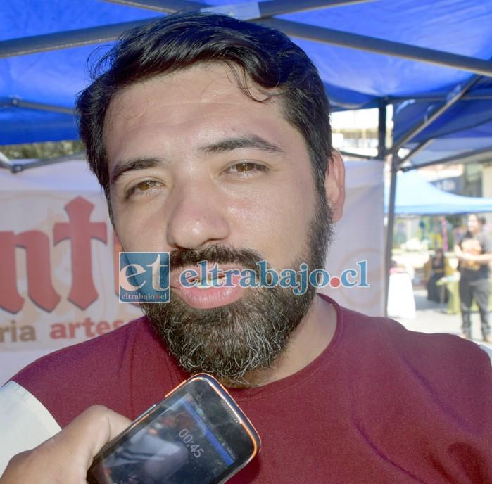 Jorge Gaete, director de los grupos locales Camerata Aconcagua y Coro Adulto Mayor San Felipe.