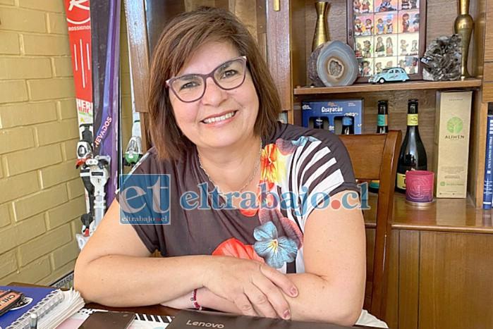 La profesora de lenguaje del Liceo Politécnico América de Los Andes, Pamela Sánchez Montecinos, quedó entre los cinco finalistas de todo el país del 'Global Teacher Prize'