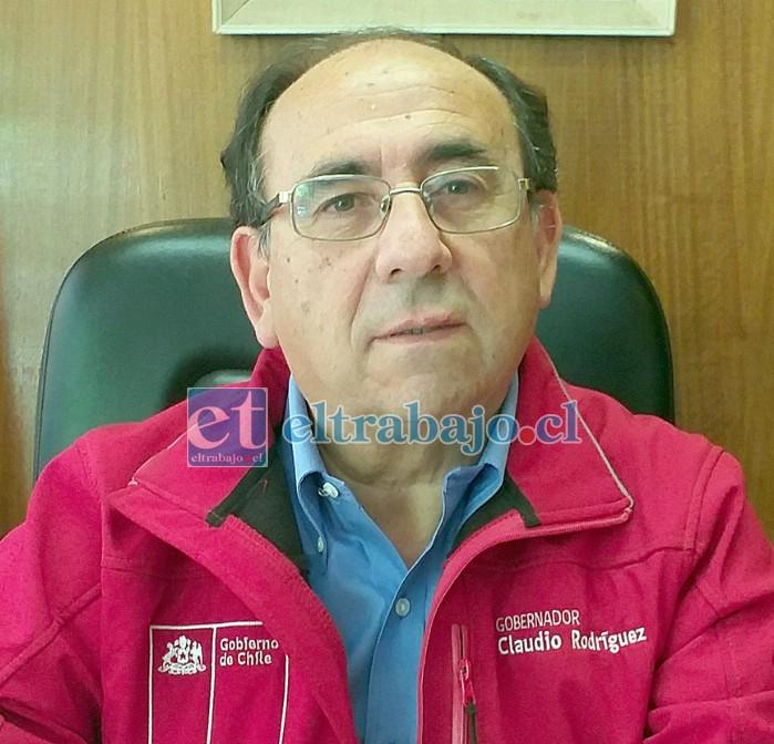 El gobernador de San Felipe entregó diversas recomendaciones para quienes acudan a votar en este Plebiscito 2020.