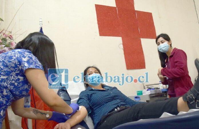 INDEFINIDAMENTE.- Ya no tienes que ir al Hospital San Camilo para donar sangre, ahora esto se realiza en la filial de San Felipe de la Cruz Roja.