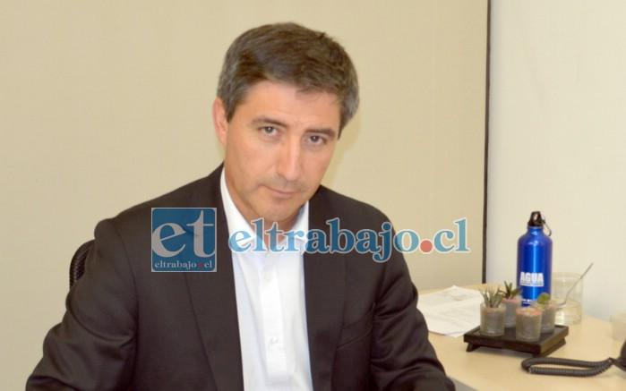 Alejandro Salas, gerente regional de Esval.