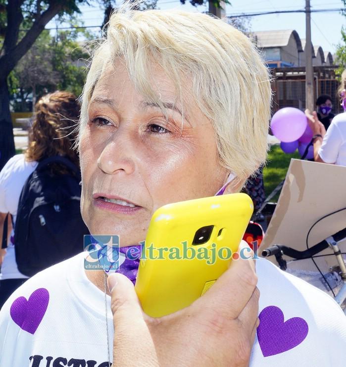 Erika Gallardo, mejor amiga de la docente Sandra Pizarro Jeria.