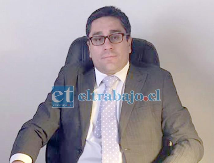 Fernando Castañeda Magna, abogado del querellante.