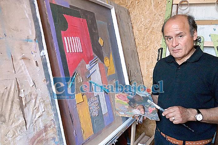 Pintores del calibre de Jabal Sen y otros artistas aconcagüinos también han mostrado su plumaje en estas instalaciones.  (Archivo)