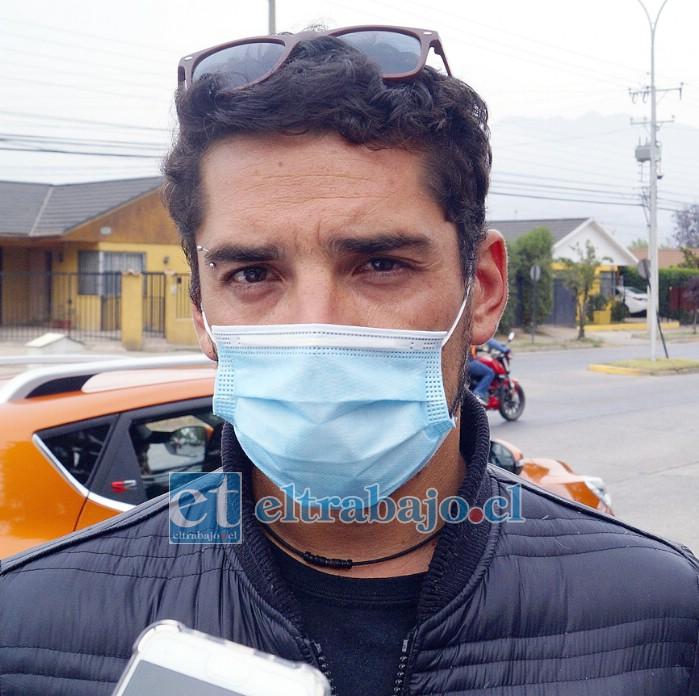 Felipe Pizarro, hermano menor de Sandra.