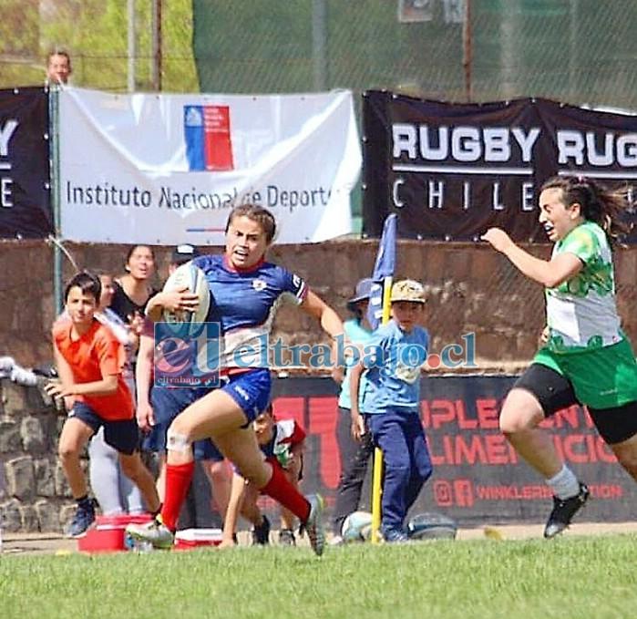 La catemina Joaquina Herrera Olivares hoy se concentra junto a la selección chilena femenina total para competir en el Sudamericano de Uruguay.