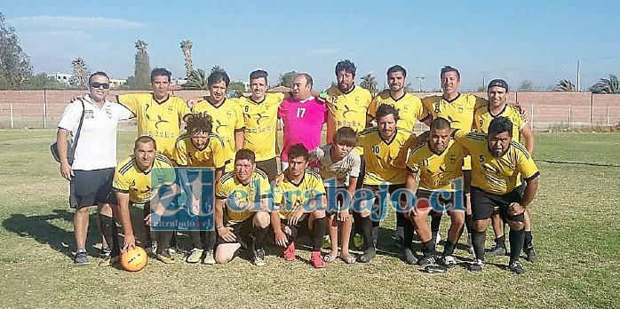 La serie Sénior le dio una gran alegría al club del 'barrio matadero' al coronarse campeona del torneo de San Felipe.