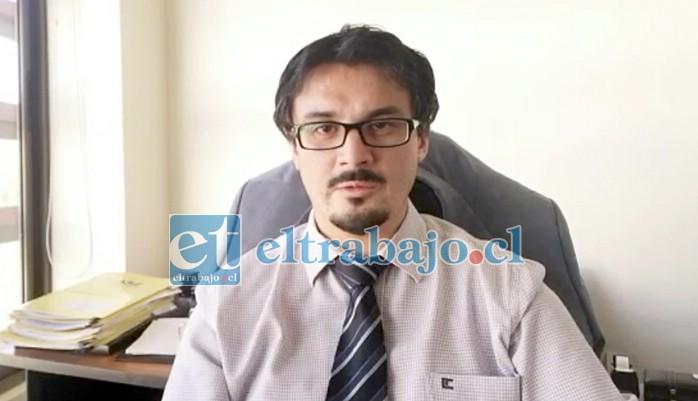 Alejandro Bustos, fiscal a cargo del control de detención.