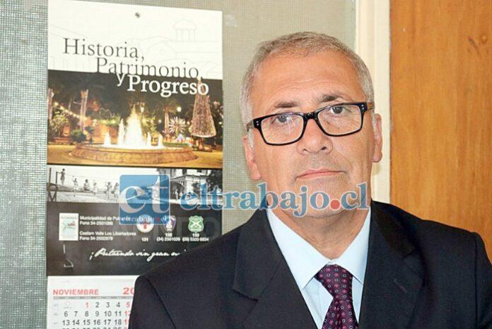 Guillermo Reyes Cortez, recordado como un buen gobernador de San Felipe, destacado como un excelente alcalde en Putaendo.
