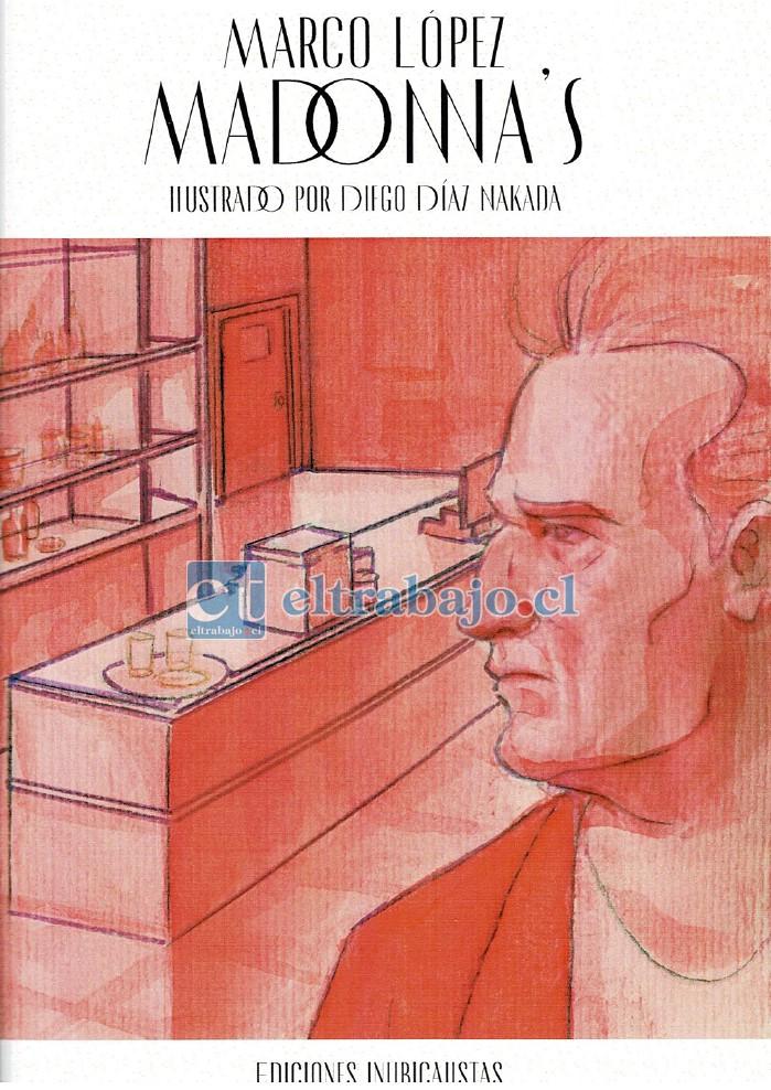 ESTE SÁBADO.- Esta es la portada de este libro, obra que ya fue publicada hace años por Marco López en su libro Mis Historias de Rock.